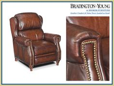 RC277-201 Leather Recliner Chair