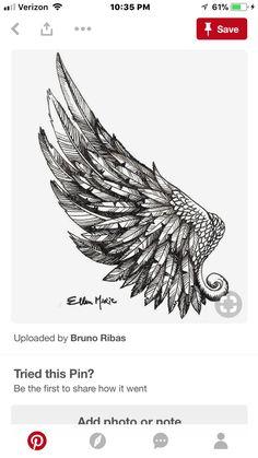 Rose Tattoos, Body Art Tattoos, New Tattoos, Tattoo 2017, Japanese Tattoo Designs, Sharpie Art, Bird Drawings, First Tattoo, Tattoo Sketches