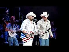 Toby Keith  Trace Adkins - Courtesy of the Red, White  Blue (Thank you to all Veterans and all our men  women in our military serving our country! You are the reason we are free! We love you!)