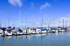 northern california known for boating, marinas