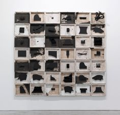 Leonardo Drew. Number 136, 2009. Wood and mixed media.