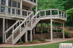 second story deck | Second Story - Decks by Peachtree Decks and Porches LLC - Georgia www ...