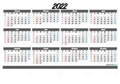 Gregorian Calendar 2022 Printable Yearly Calendar, Make A Calendar, Weekly Planner Template, Weekly Calendar, Printable Calendar Template, 2021 Calendar, Templates Printable Free, Printables, Online Calendar
