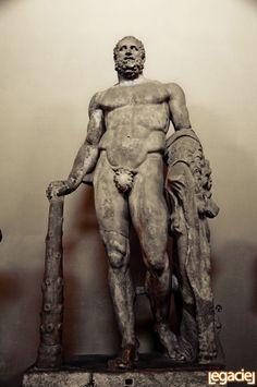 The symbol of strength: Hercules