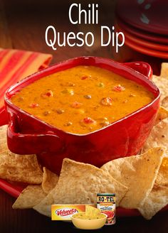 This zesty Chili Queso Dip recipe is a perfect appetizer and sure to become a new favorite at your Quesoccasion.