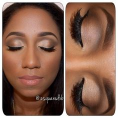 cat eye makeup dark skin - Google Search