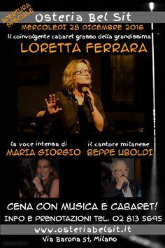 Mercoled' 28 dicembre 2016 Loretta Ferrara