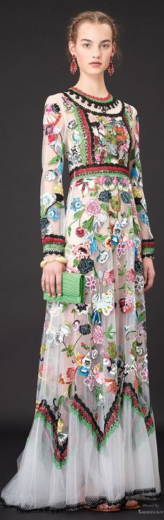 Valentino Resort 2015- I cannot for the life of me think of a time I would wear this- but wow!!