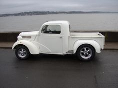 Hi here are some pics of my 1948 anglia pick up built in 1984 by Steve Woodley, it has new wheels etc, but still basically the same as it was, it runs an essex autobox, jag rear. Classic Pickup Trucks, Old Pickup Trucks, Ford Classic Cars, Best Classic Cars, Gm Trucks, Cool Trucks, Pickup Camper, Lifted Trucks, Dually Trucks