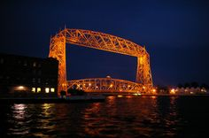 Duluth Aerial Bridge in Duluth, Minnesota
