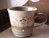 アールデコマグカップ