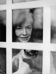 Editor-publisher of Patricia Highsmith's said that she was one of the nastiest people he'd ever met--but if she loved cats..(from a tweet from Joyce Carol Oates).