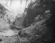 WWI Trench, historical photo