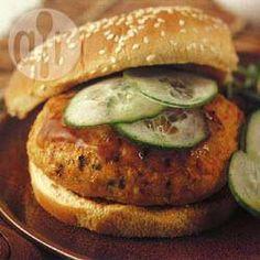 Asian Vegetable Turkey Burgers @ allrecipes.com.au