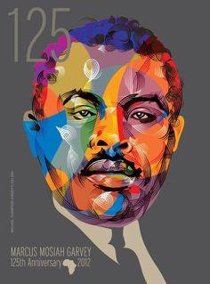 Marcus Garvey – The People's Hero highlights places across the world named after Garvey Marcus Garvey, Rastafari Art, Black Star Line, Reggae Rasta, Statue, Jamaican Art, Michael Thompson, Harlem Renaissance, Afro Art