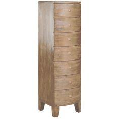 Lewes - 7 Drawer Tallboy | Bedroom Ranges | Smart Shop £299