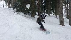 Иногда надо кататься не только на лыжах😄🏄🏻 #всеммира🙏🏽 #snowboarding #rosakhutor #gorillaenergy #goodfellazru  #thenorthface_russia #snow