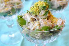 Crab & avacado salad - I love crab, I love avacado and I love Mad Men.  Sounds like a winning combination to me....