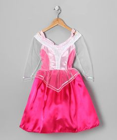 Take a look at this Pink Sleeping Beauty Princess Dress - Toddler & Girls by Story Book Wishes on #zulily today!
