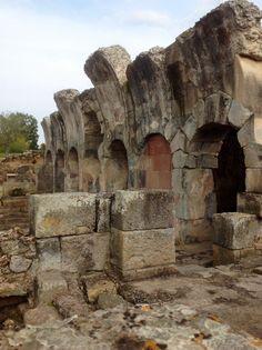 La grandezza dell'Antica Roma nelle Terme Romane di Fordongianus (Sardegna). Per info www.forumtraiani.it