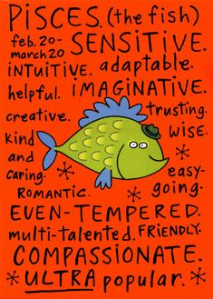 Astrology Sign, Pisces. Sweet this is my sign :)