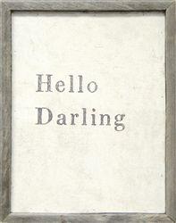 Sugarboo Designs | Wall Art - Hello Darling | Carol and Company