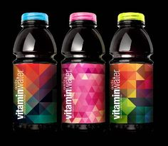 vitamin water design contest, The color and pattern well illustrated on the vitamin water. The design is vivid and fulfills product's theme.