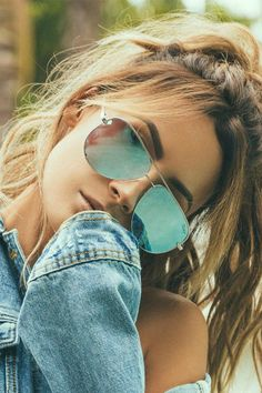 High Key Blue Sunglasses