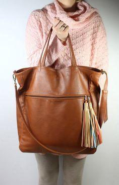 BigBag Fringe Leather