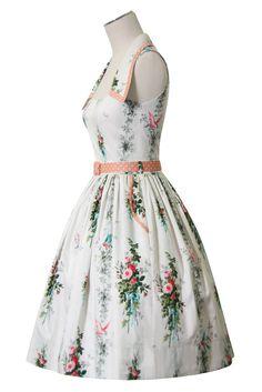 Hummingbird Collar Dress