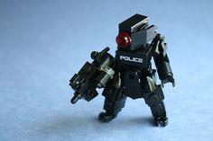 Cyberpunk Police Hardsuit [Black] by
