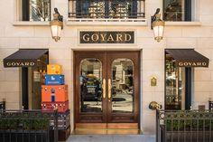 Goyard New York City Store Love the Trunks & The Railing <3