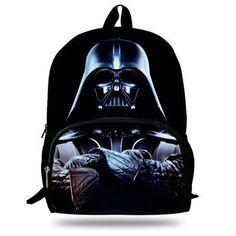 School Bag Child Star Wars Darth Vader Backpack Kids Boys/Girls