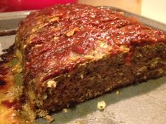 Turkey Pesto Meatloaf with Balsamic Tomato Sauce | Grabbing the Gusto