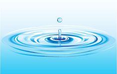 Realistic Water Drop Splash