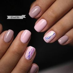 Broken glass by shellac, Broken glass on short nails, Evening nails, Everyday nails, Fall nails 2016, Fashion broken glass nails, Fashion nails 2017, Nails ideas 2017