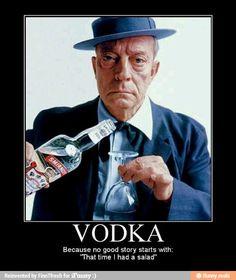 Buster Keaton Vodka