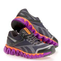 Reebok Womens Ziglite Electrify Nylon Running Jogging Shoes | eBay