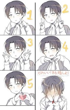 Rivaille x eren (ahh too cute!)
