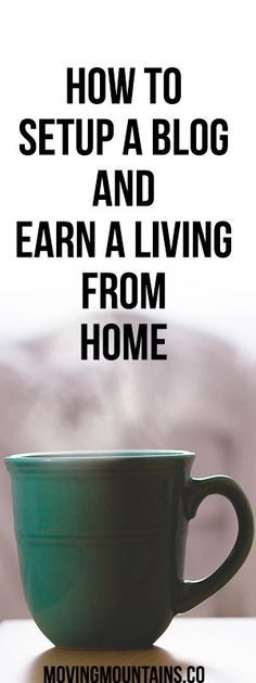 Great ideas for starting a blog and making money from it. Work from home in your spare time and have more time for your family.