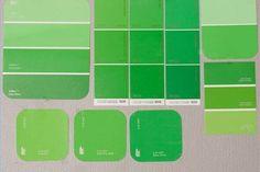 Green screen colors