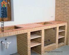 struttura per cucina in muratura | Ремонт Remodeling идеи для ...