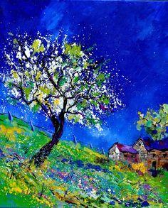"""Saatchi Online Artist: Pol Ledent; Oil, 2013, Painting """"Summer 566130"""""""