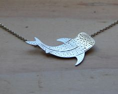 Sterling Silver Whale Shark Necklace