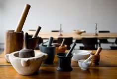 I won't need as many as Oswalds Mill, but a mortar and pestle is still a must.