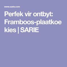 Perfek vir ontbyt: Framboos-plaatkoekies | SARIE Treats, Food, Sweet Like Candy, Goodies, Essen, Meals, Sweets, Yemek, Snacks