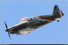 Morane-Saulnier M.S.406  by Jan Kalina