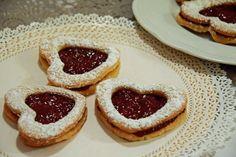 Biscotti a cuore di san valentino