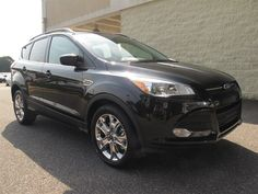 At Paramount Ford Valdese, New 2014 Ford Escape, Tuxedo Black, Gassss saverrrr!!! 30 MPG Hwy, Sold!