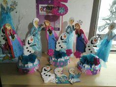 Frozen decoraciones...